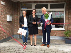 MD Kosmetik Eroeffnung Willich mit Bürgermeister