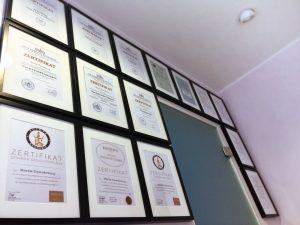 MD Kosmetik - Weiterbildungen und Zertifikate