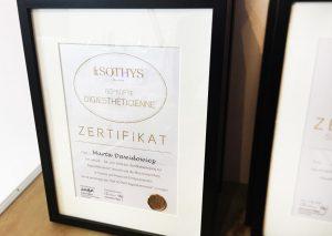 Sothys-Institut-Willich-Zertifikat