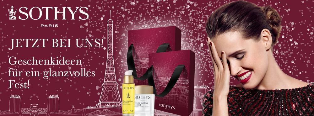Sothys – Geschenkideen für ein glanzvolles Fest bei MD Kosmetik