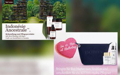 Angebote April 2020 – Pflege-Set zum Muttertag und indonesische Pflege-Produkte