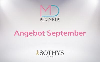 Angebot September – SOTHYS-Produkte im Wert von mindestens 80 € kaufen und ein Geschenk erhalten